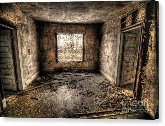 Abandoned Canvas Print by Miguel Celis