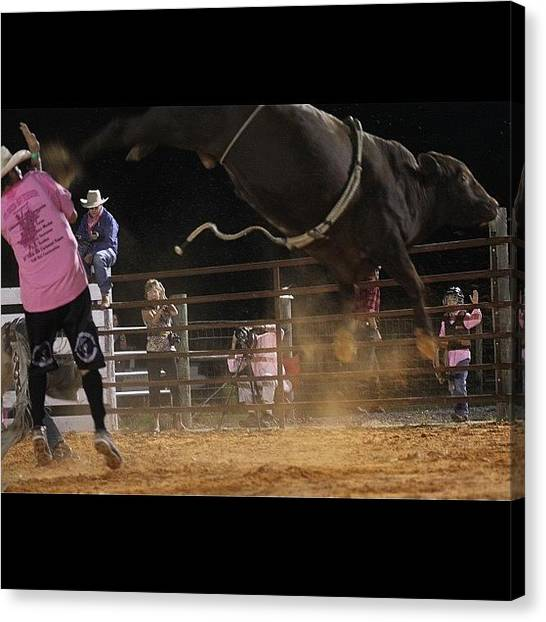 Rodeos Canvas Print - #action #all_shots #actionshot by Lisa Yow