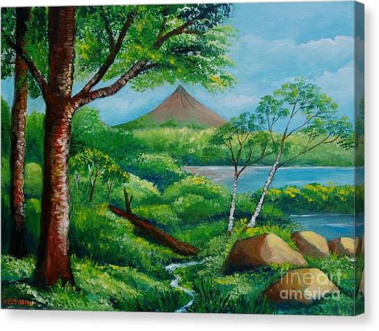 Arenal Volcano Canvas Print
