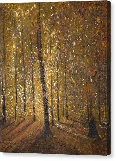 Autumn Canvas Print by Alexander Antonyuk