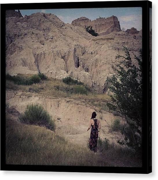 Surrealism Canvas Print - Badlands by Cody Proctor
