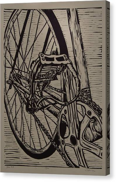 Bike 3 Canvas Print