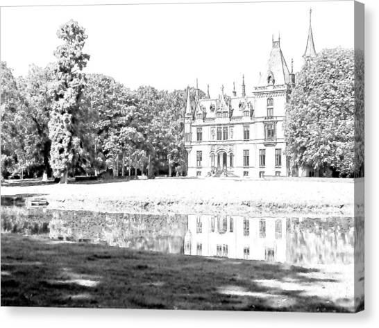 Chateau Aertrycke Torhout Belgium Canvas Print by Joseph Hendrix