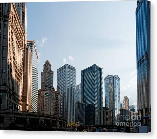Chicago City Center Canvas Print
