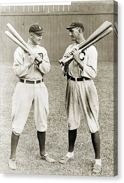 Chicago White Sox Canvas Print - Cobb & Jackson, 1913 by Granger