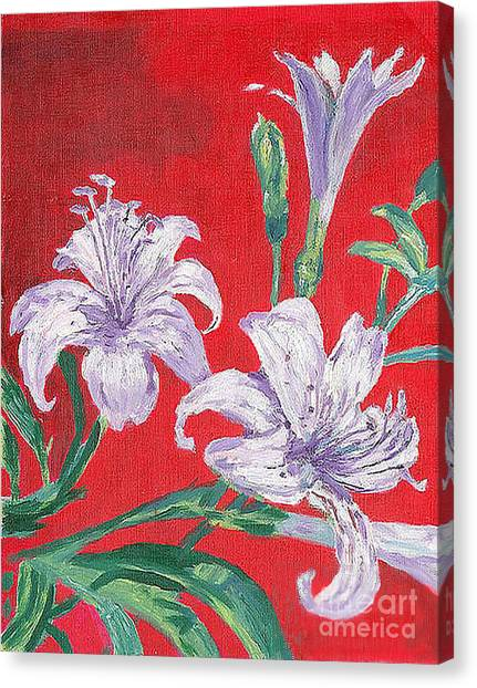 Flowers Canvas Print by Kostas Dendrinos