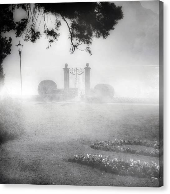Murky Canvas Print - Gateway To The Lake by Joana Kruse