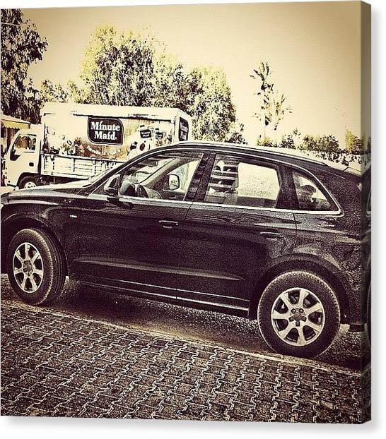 Audi Canvas Print - #instagramers #instamood #instahub by Styledeouf ®