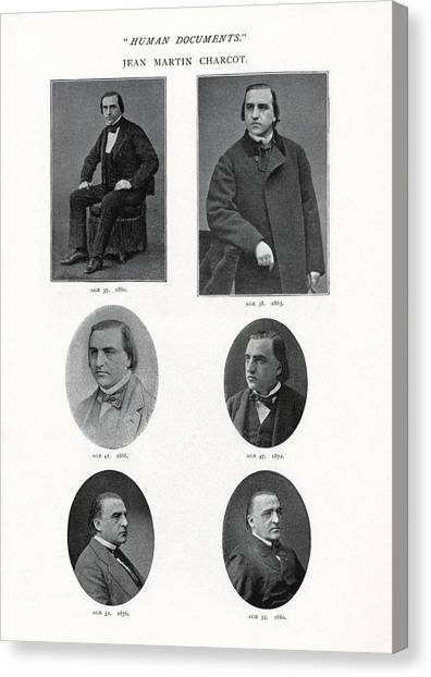 Jean-martin Charcot, French Neurologist Canvas Print by Humanities & Social Sciences Librarynew York Public Library