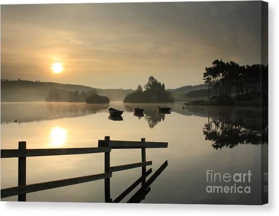 Knapps Loch Sunrise Canvas Print