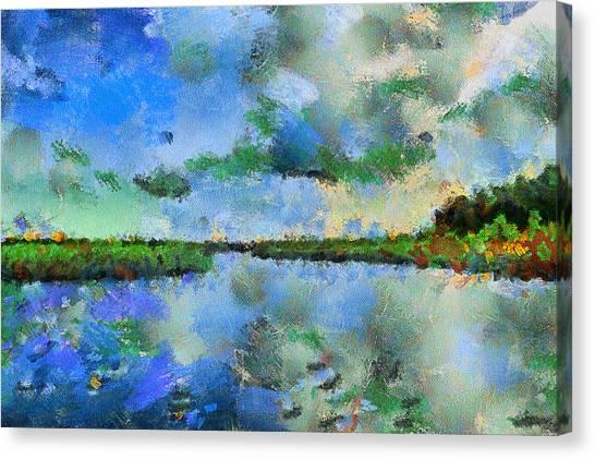 Lake View Canvas Print by Yury Malkov