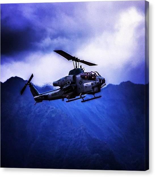 Helicopters Canvas Print - #like @tagsforlikes #like4like by Artistic Shutter