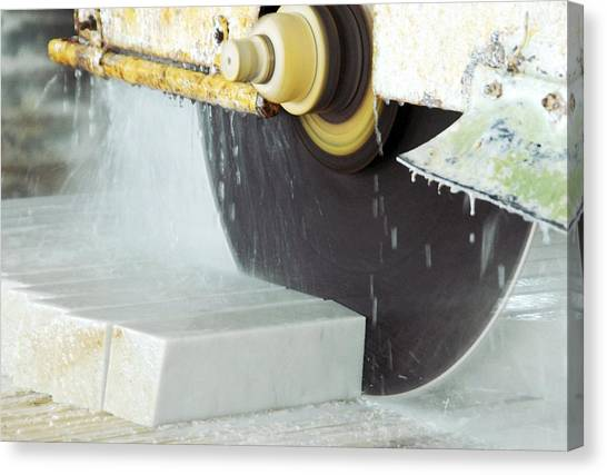 Marble Quarrying Canvas Print by Ria Novosti