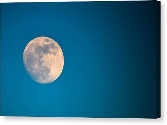 Moonscape Canvas Print by Brian Stevens