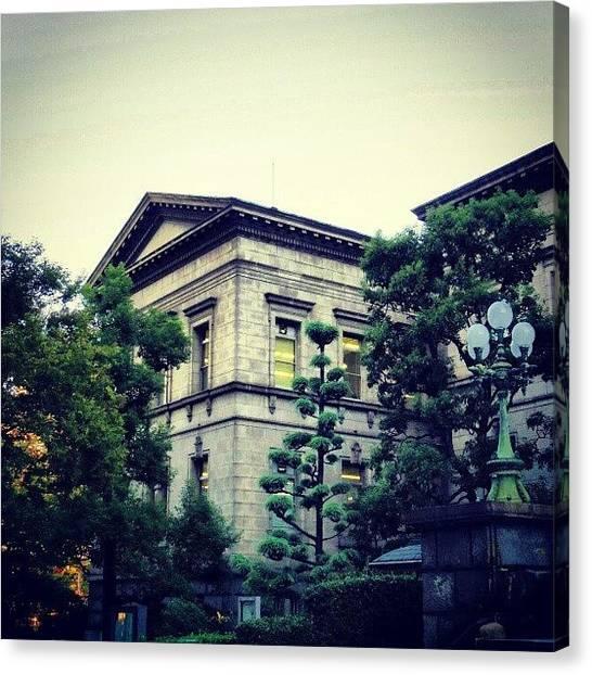 Libraries Canvas Print - Nakanoshima Library  中之島図書館 by My Senx