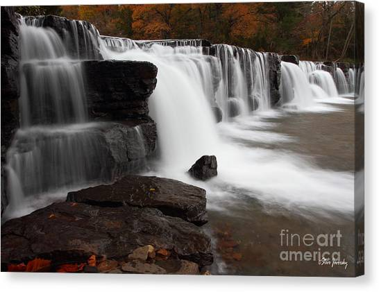Natural Dam Canvas Print