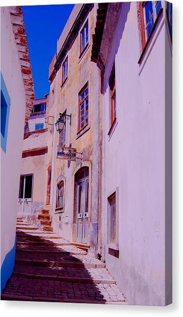 Paisajes Del Algarve Canvas Print by Eire Cela