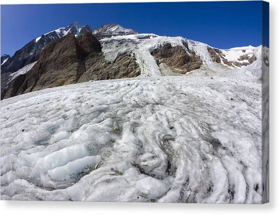 Pasterze Glacier Canvas Print - Pasterze Glacier by Dr Juerg Alean