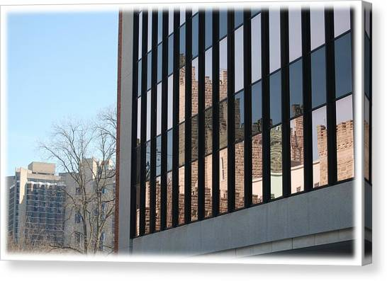 Illinois State University Canvas Print - Reflection by Abraham Adams Photography