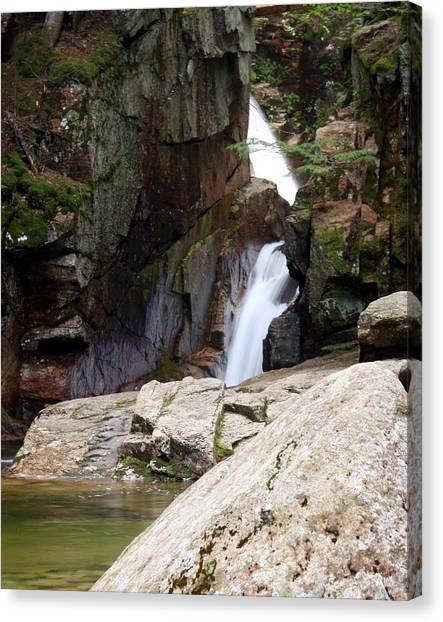 Sabbaday Falls Canvas Print by David Gilman