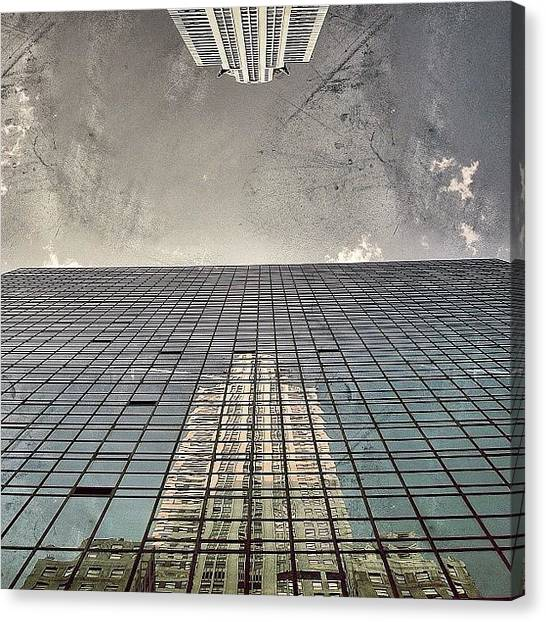 Skyscrapers Canvas Print - The Chrysler - New York by Joel Lopez
