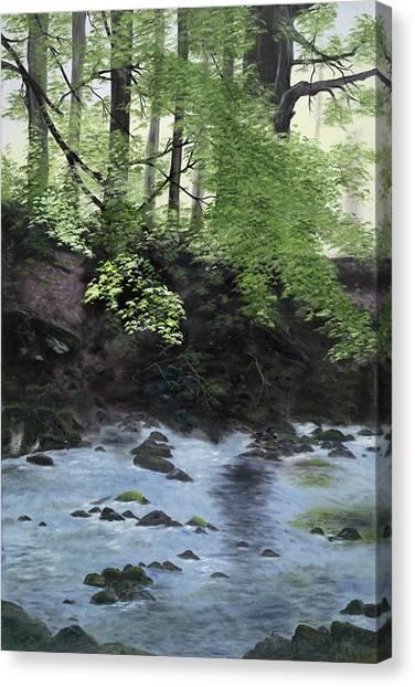 The Glen Canvas Print