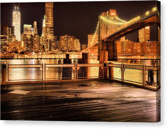 The View Canvas Print by JC Findley