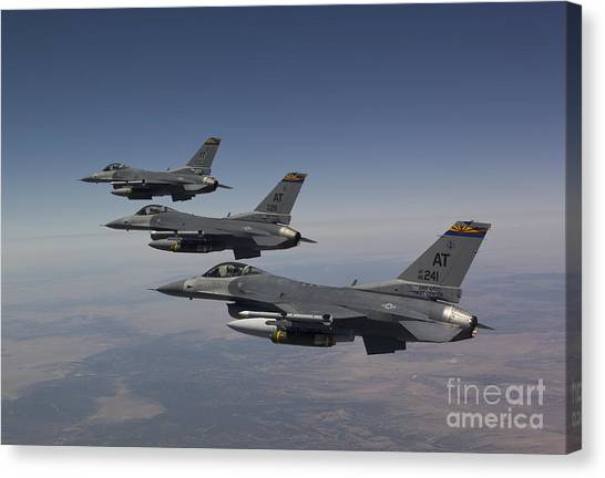 Air Guard Canvas Print
