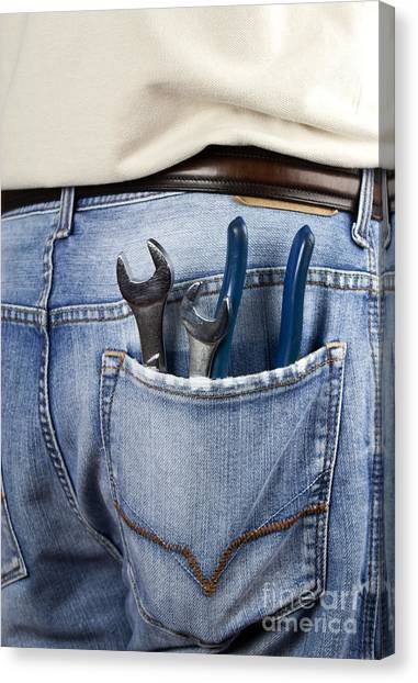 Wrenches Canvas Print - Tools by Blink Images