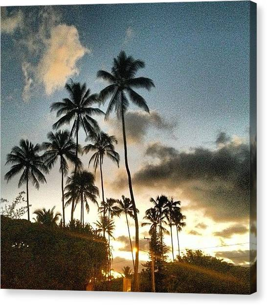 Tsunamis Canvas Print - #wave #waikiki #lanikai by Andy Walters
