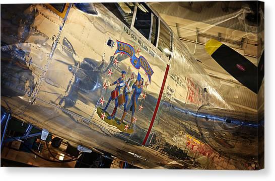 Ww II Fighter Plane Canvas Print