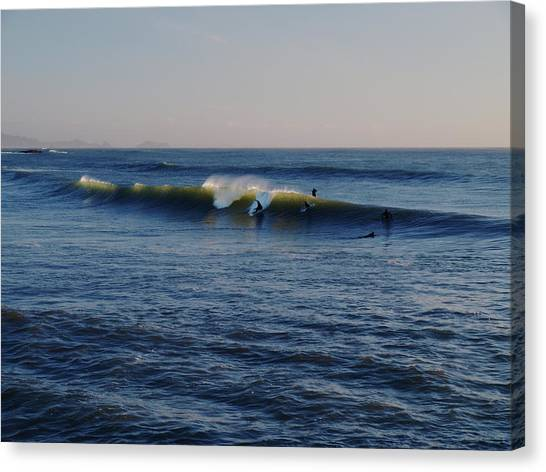 Surfers Make The Ocean Better Series Canvas Print