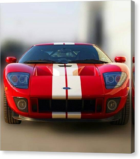 Ford Canvas Print - 2006 Ford Gt40 by James Granberry