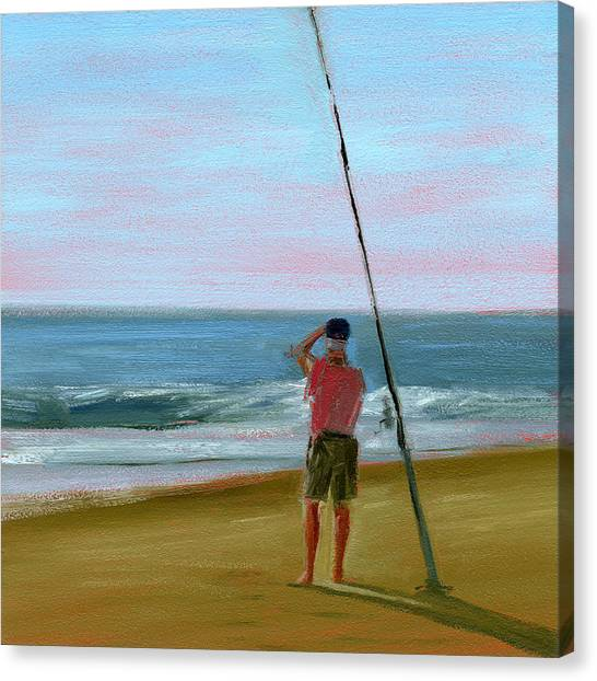 Grandpa Canvas Print - Rcnpaintings.com by Chris N Rohrbach