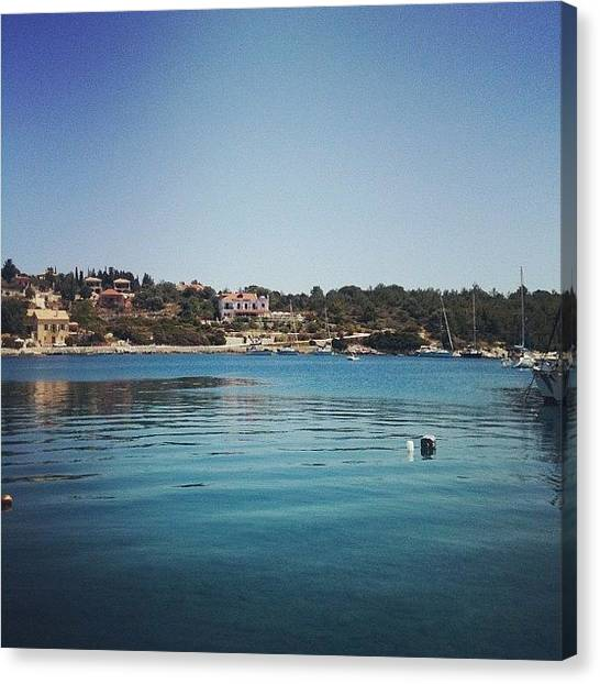 Greece Canvas Print - Instagram Photo by Neelam Khera