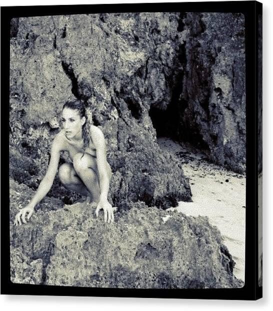 Nude Canvas Print - Instagram Photo by Alexandre Stopnicki