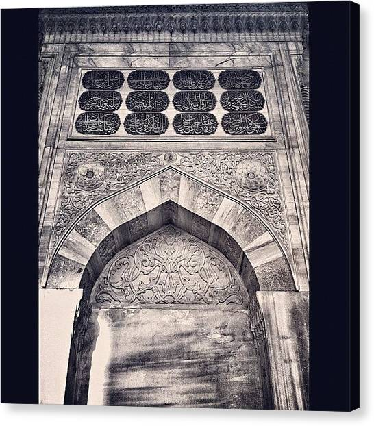 Islamic Art Canvas Print - #instagood #tweegram #photooftheday by Ismail Velioglu