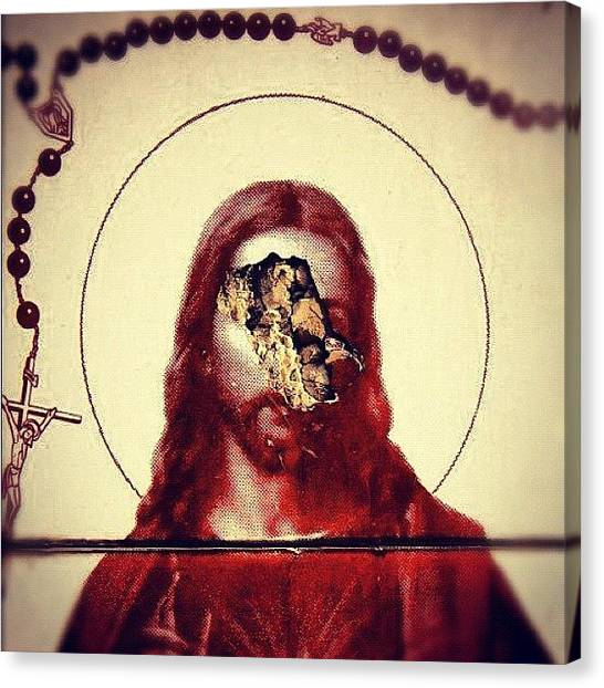 Atheism Canvas Print - #jj, #teg, #photooftheday, #instadaily by Anthony C