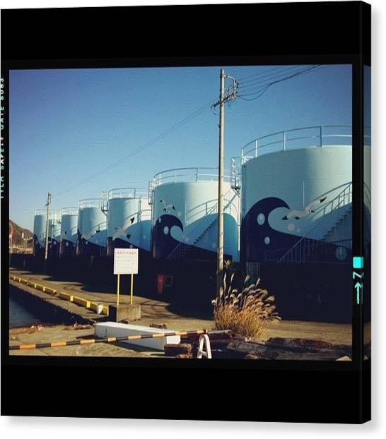 Tanks Canvas Print - Instagram Photo by Ayami Nakamura