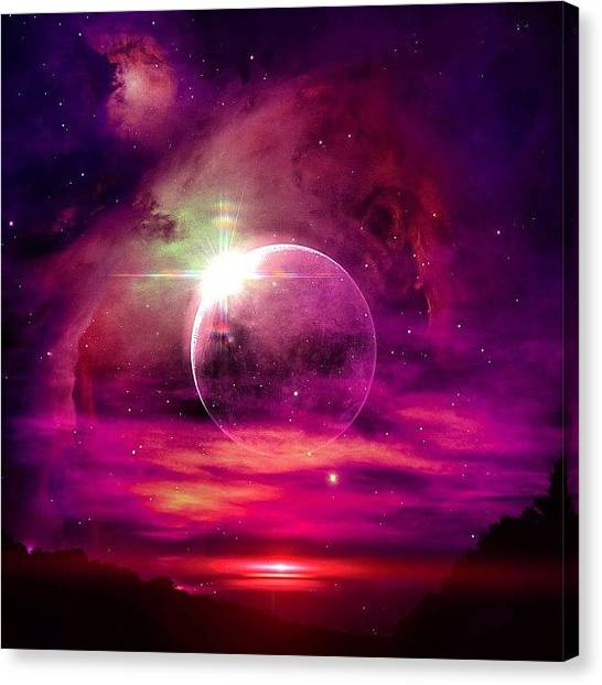 Stars Canvas Print -  by Katie Williams