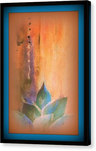 Ancient Lotus Canvas Print by Wendy Wiese