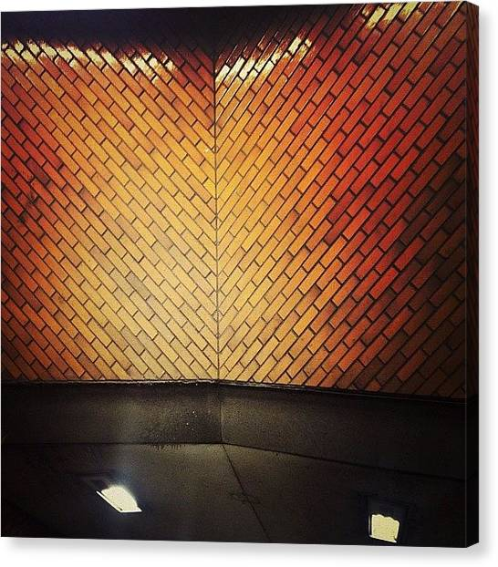 Subway Canvas Print - Angles by Natasha Marco