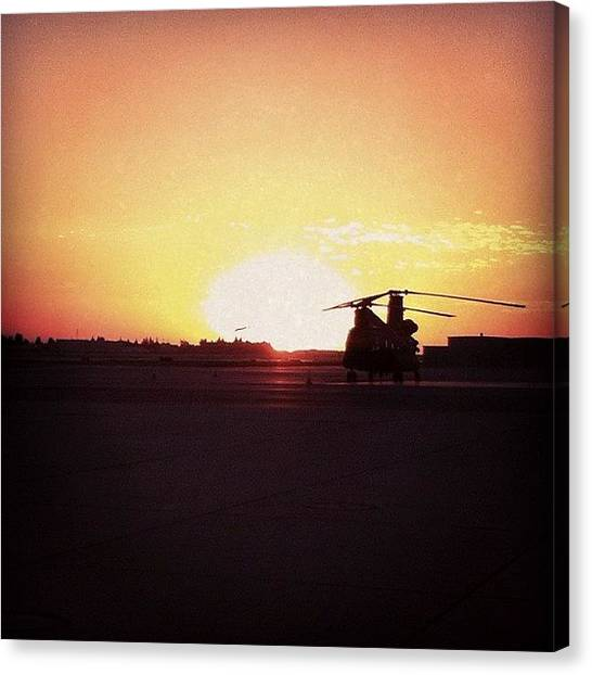 Helicopters Canvas Print - #avgeek #airporn #airplane #aviation by Artistic Shutter
