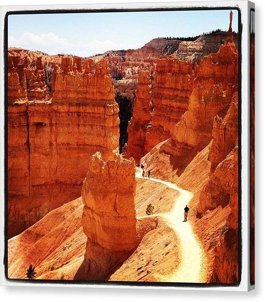 Red Rock Canvas Print - Bryce Canyon by Isabel Poulin