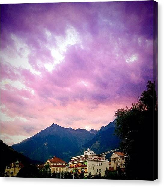 Italy Canvas Print - Clouds by Luisa Azzolini