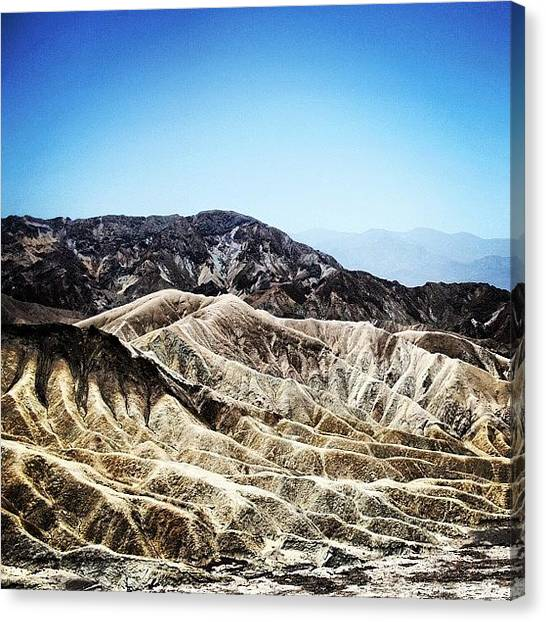 Cool Canvas Print - Death Valley by Luisa Azzolini