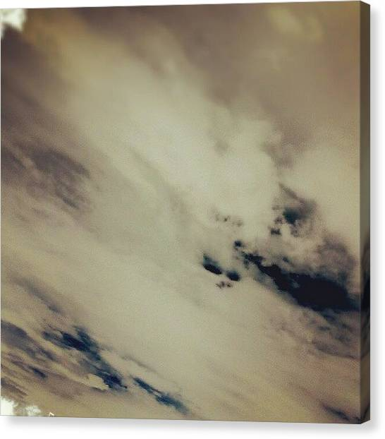 Tools Canvas Print - Doomsday Sky series by Percy Bohannon