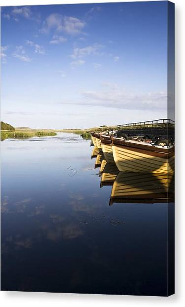 Dunfanaghy, County Donegal, Ireland Canvas Print by Peter McCabe