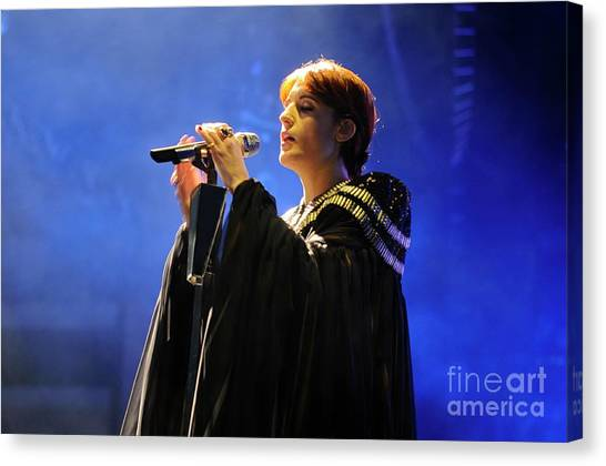 Florence And The Machine Canvas Print