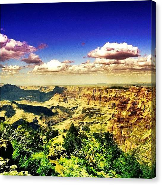 University Canvas Print - Grand Canyon by Luisa Azzolini